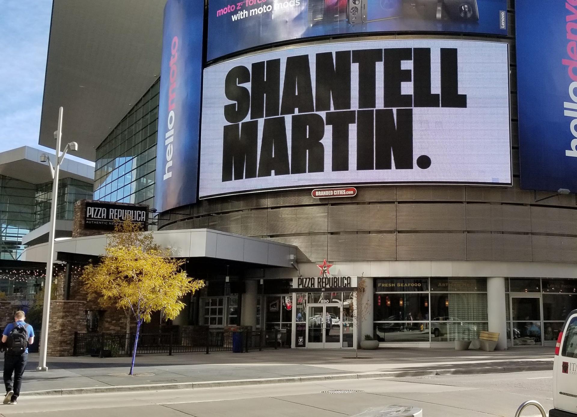 Shantell martin news denver theatre district public art for Craft show denver convention center