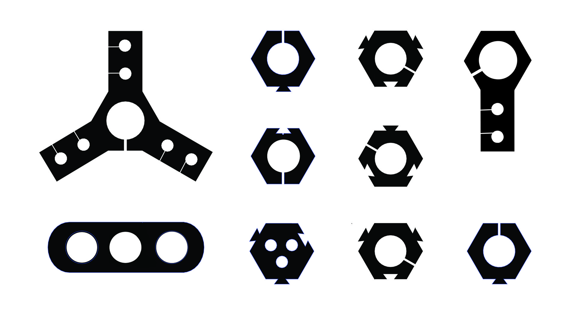 shantell martin  u2014 work  3d printed drawing tools